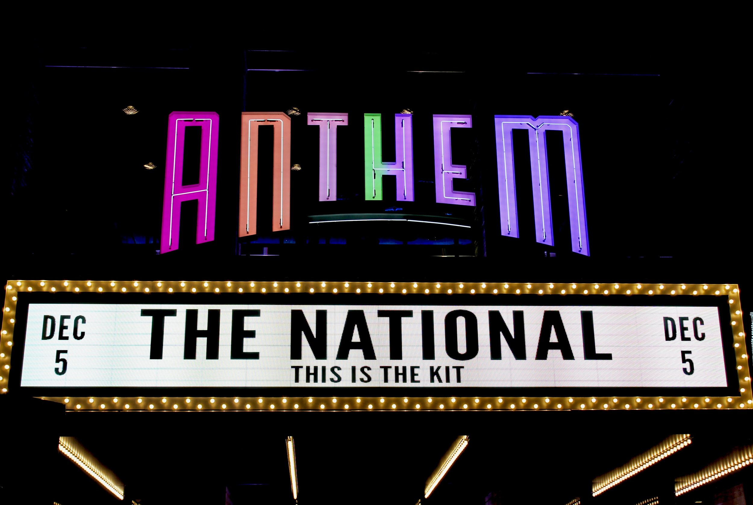 This is the Kit @ The Anthem