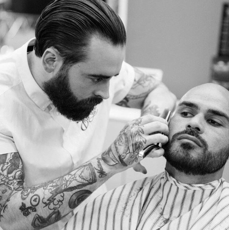 Part Shave Beard Trim