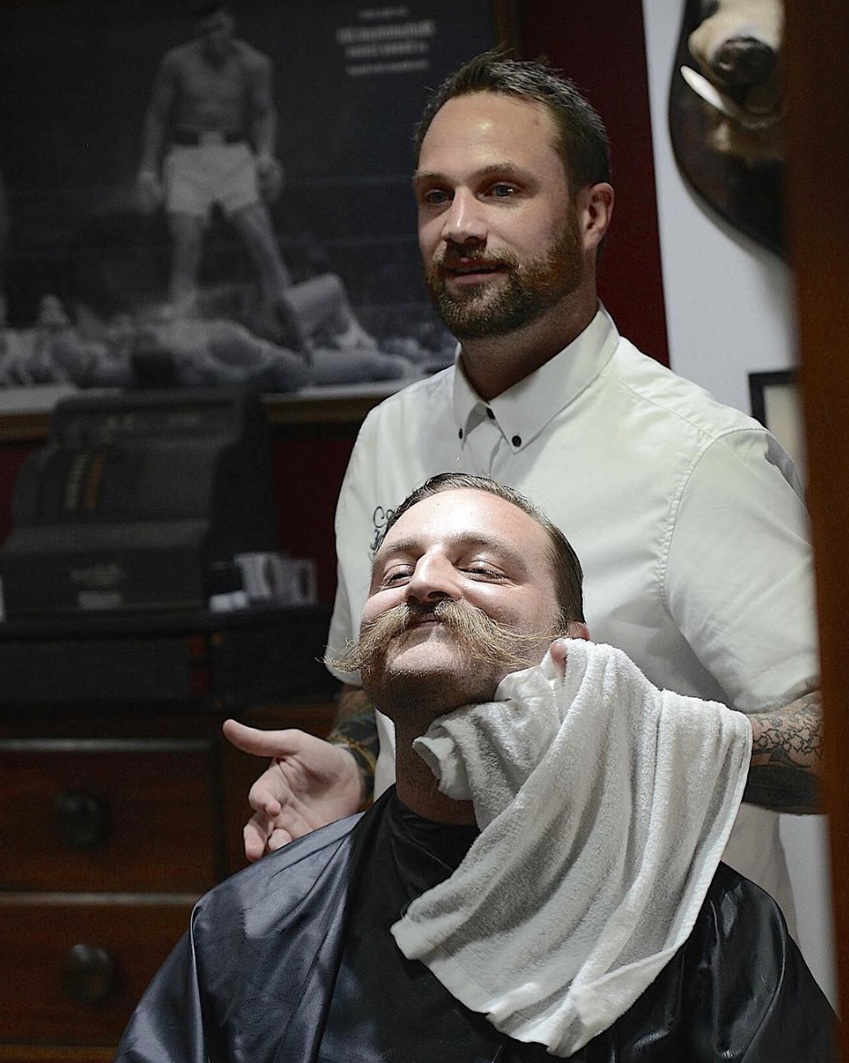 Style Cut & Hot Towel Shave