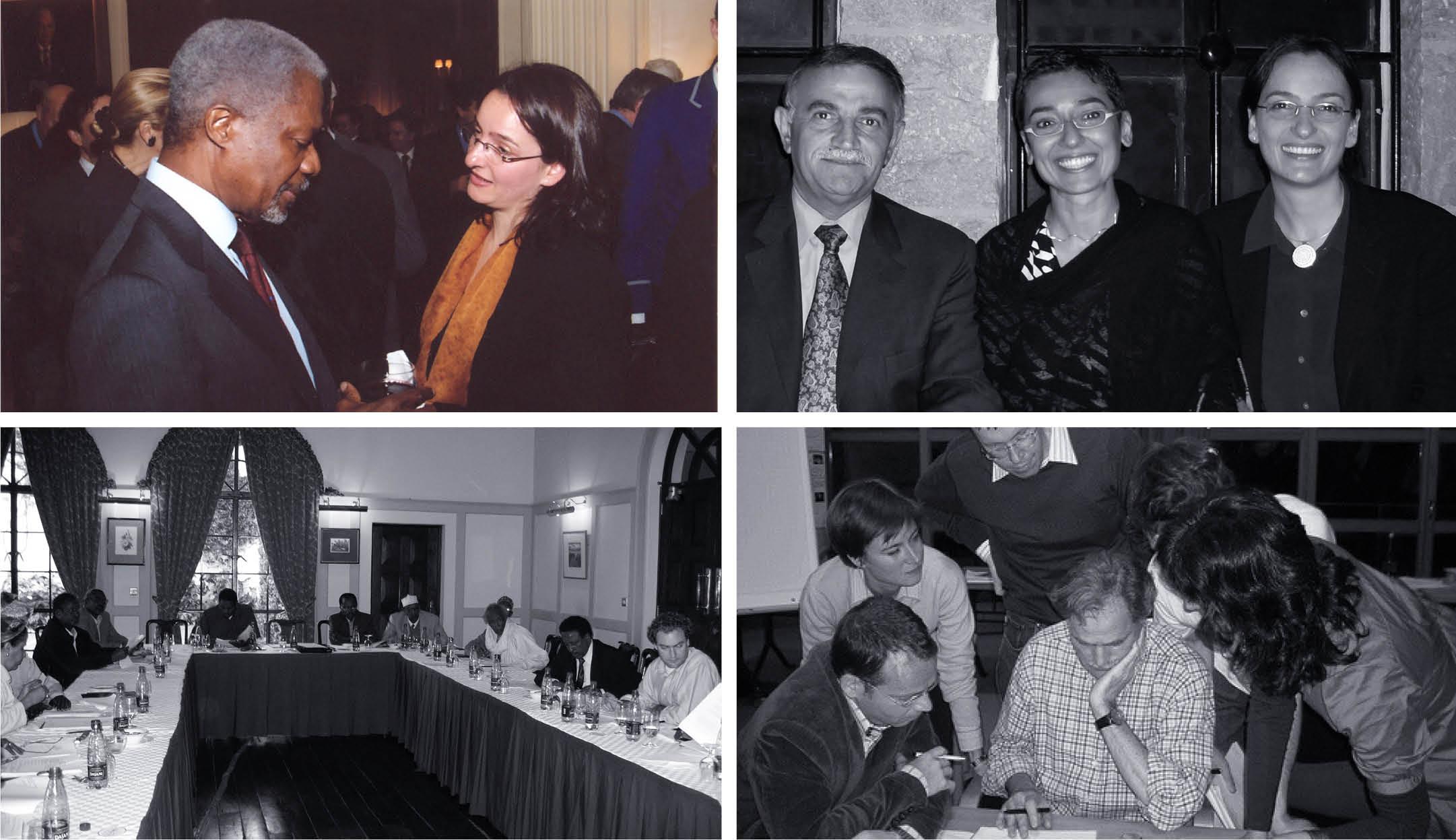 UN Secretary General Kofi Annan, NYC, 2004