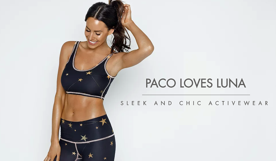 Paco Loves Luna Star Crop and Tights