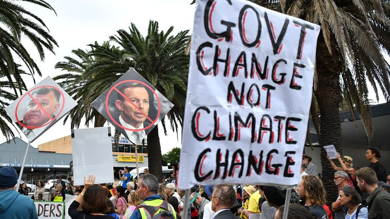 Exclusive: Poll reveals climate change key issue for more than half of voters - Fiona Willan, Nine News