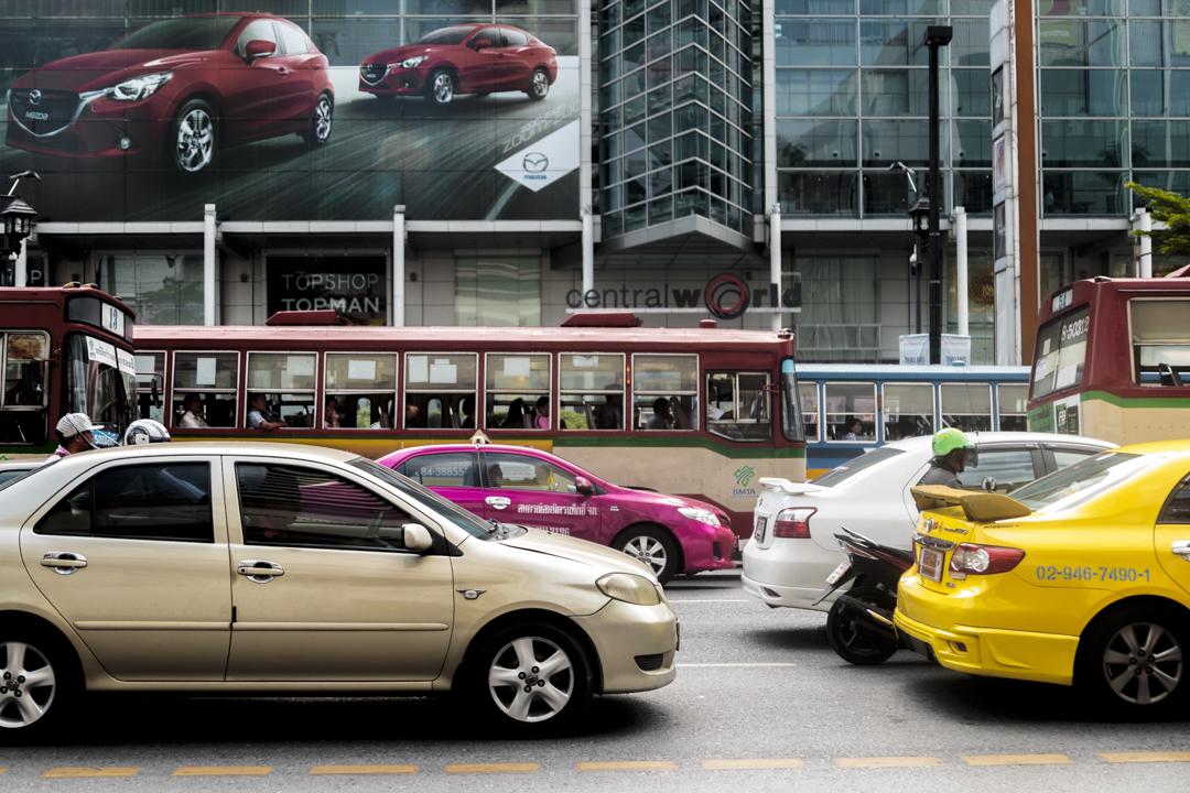 Traffic jam, Bangkok, Thailand