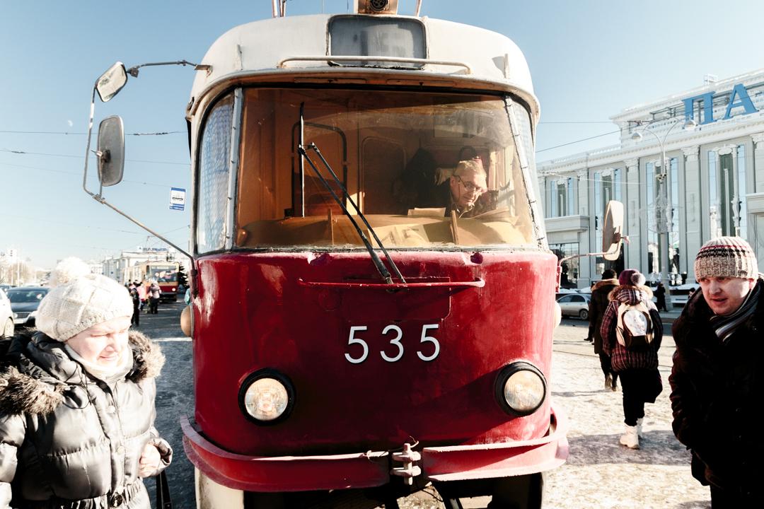 A tramway, Iekatrinbourg, Russia