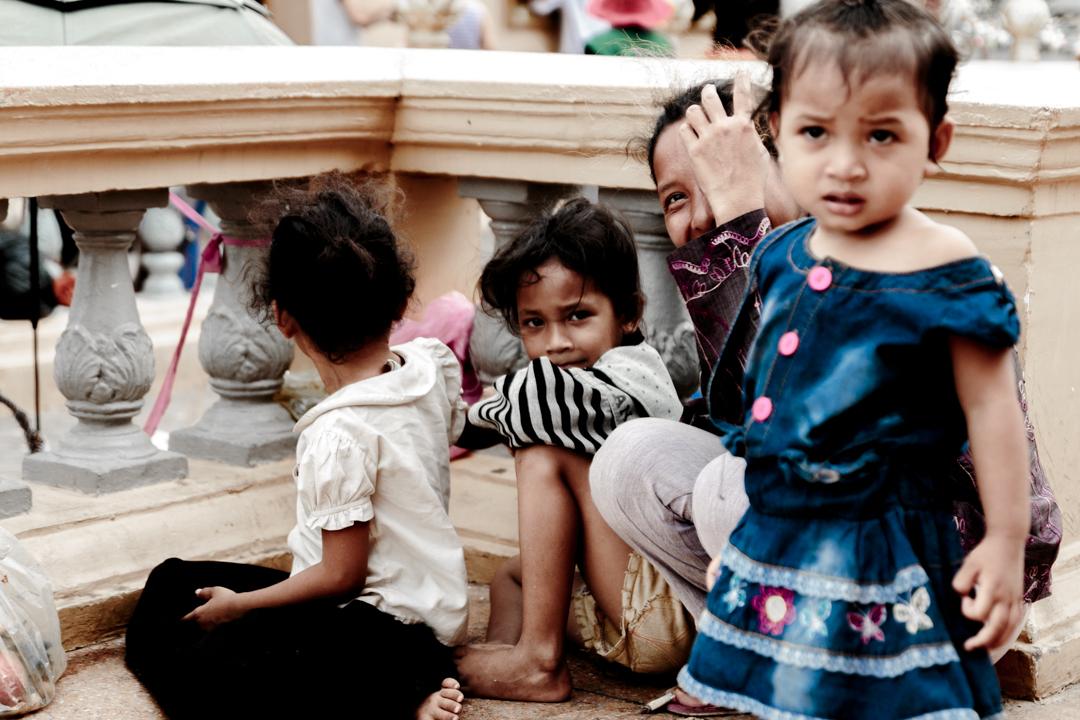 People at a popular event, Phnom Penh, Cambodia