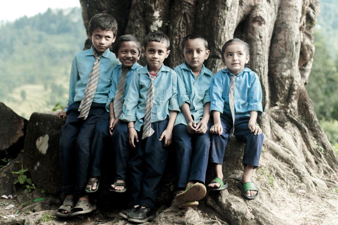 A nepali school class