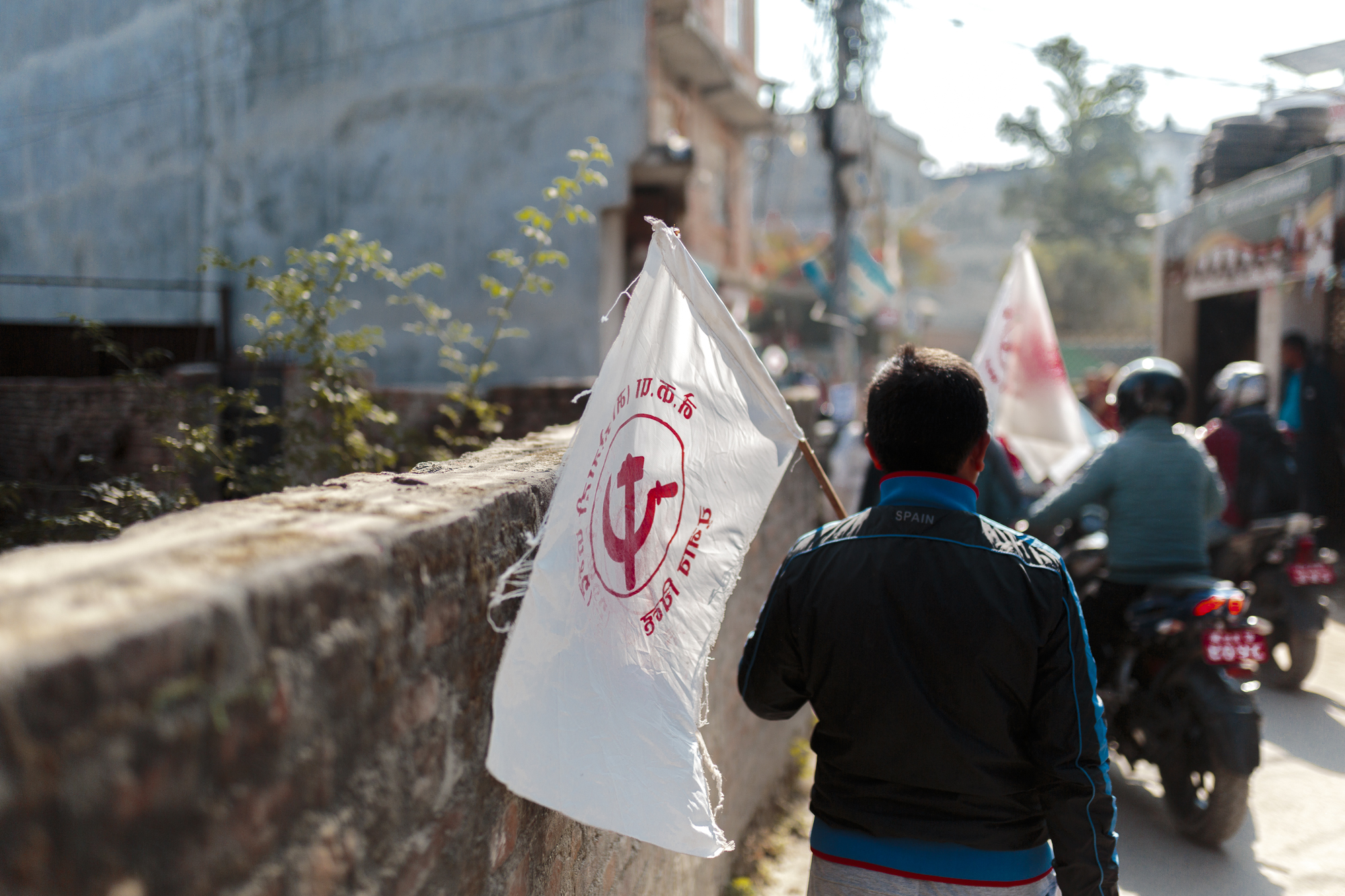 Copy of Copy of Communist procession, Kathmandu, Nepal, 2017