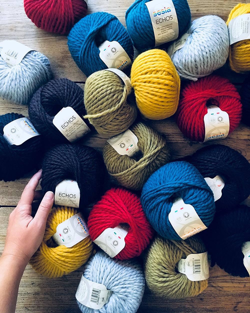 Echos - 70% lana 30% alpaca.
