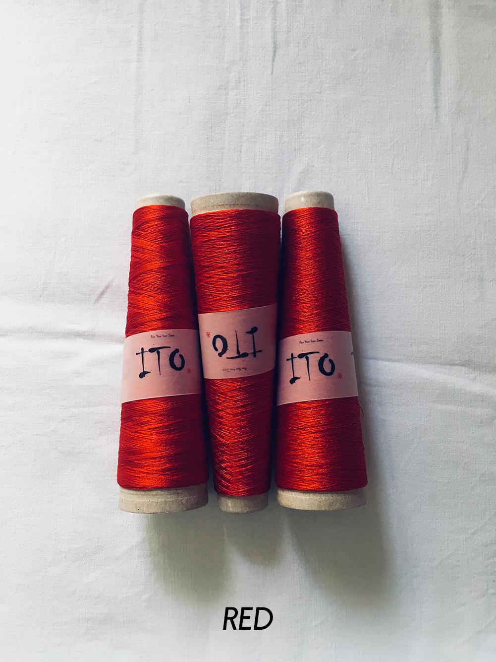 ito_tetsu_red_433_wool_done_knitting.jpg