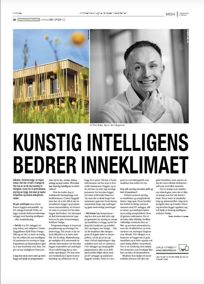 Artikkelen på side 22. Tekst: Ole Bjørn Ulanæs