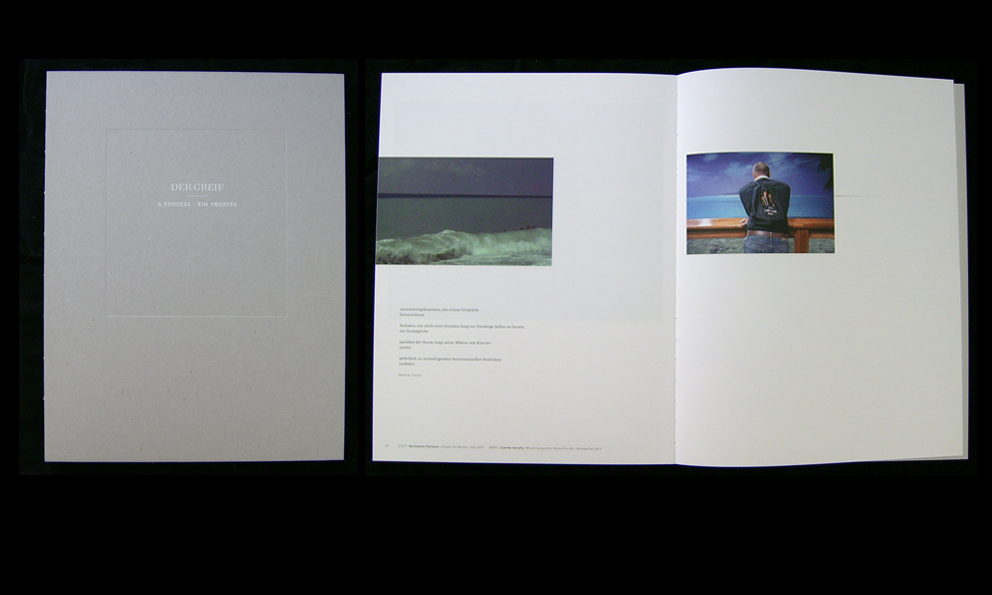 People do Water Preview, A Process special edition book, Der Greif, Germany