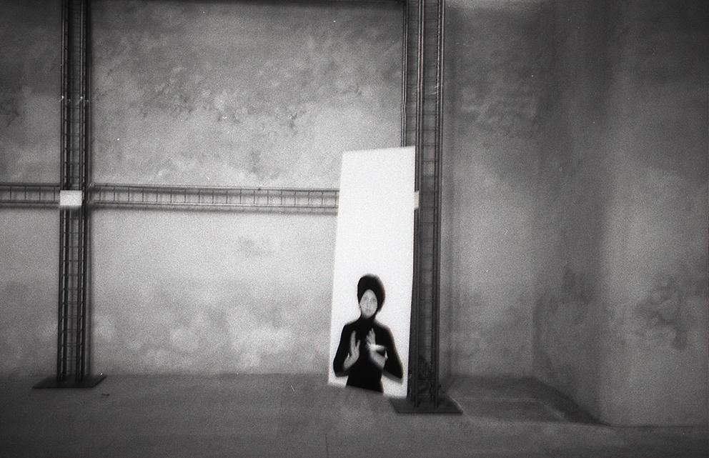 Rotation Black | La Donna Oggetto | curated by Luca Beatrice | Castello Sforzesco di Vigevano | 2006