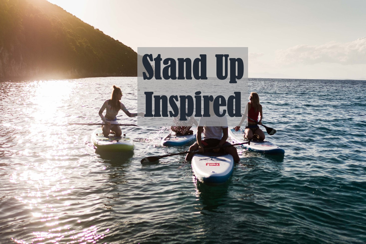 STANDING UP ON YOUR OWN TWO FEET. WE CAN TAKE YOU OUT ON THE WATER, LOCATIONS CLOSE TO YOU OR AT OUR STAND UP PADDLE CO PARTNERS IN DEVON.