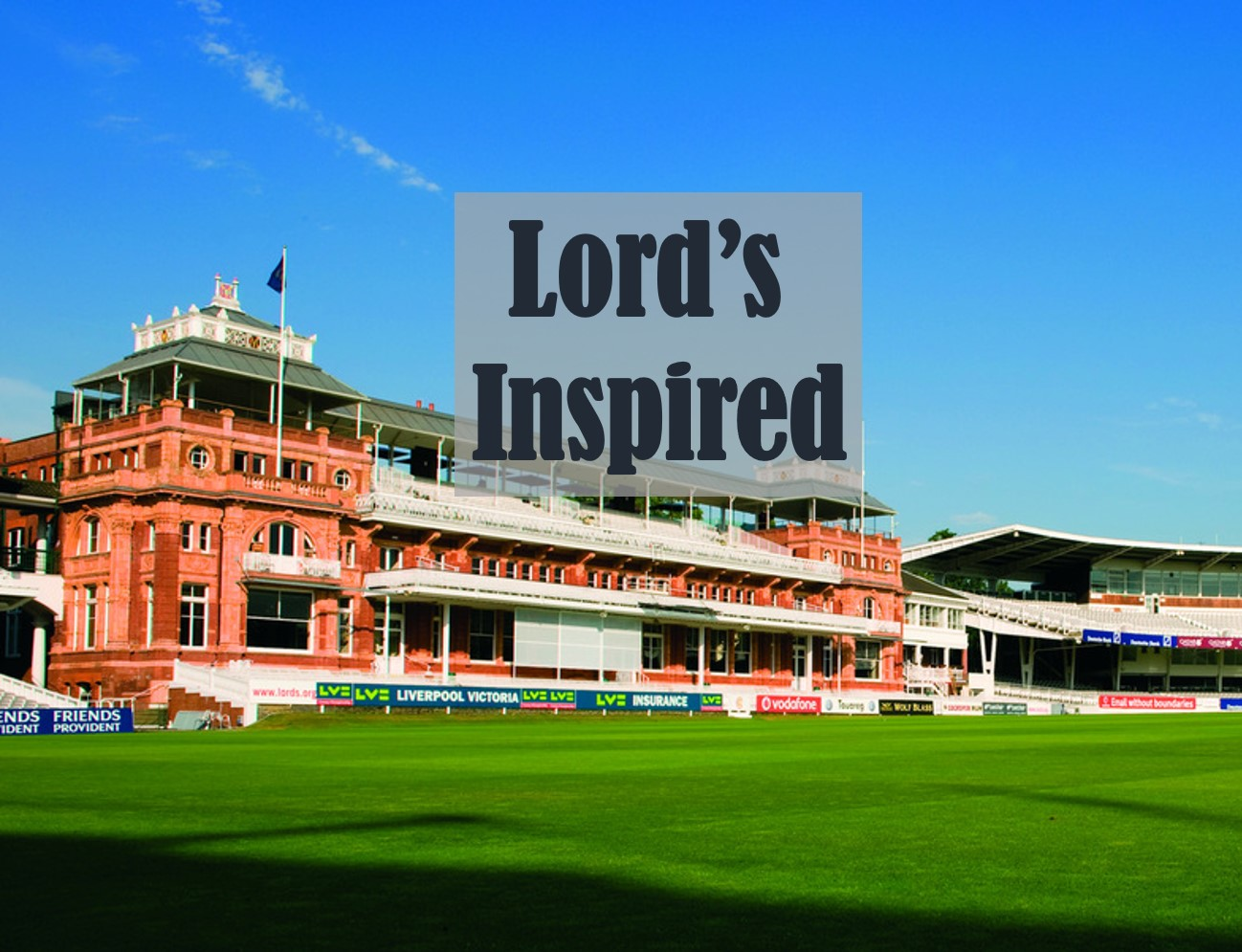 OUR SPORT TO BUSINESS IGNITION SESSIONS INSPIRED BY THE HOME OF ENGLISH CRICKET. WE BRING TO YOU EX-PRO CRICKETERS TO IGNITE THINKING. WE CAN PROVIDE CRICKETING MASTERCLASSES IN THE LORD'S NURSERY NETS AND LUNCH/ DINNER IN THE FAMOUS LORD'S LONG ROOM.