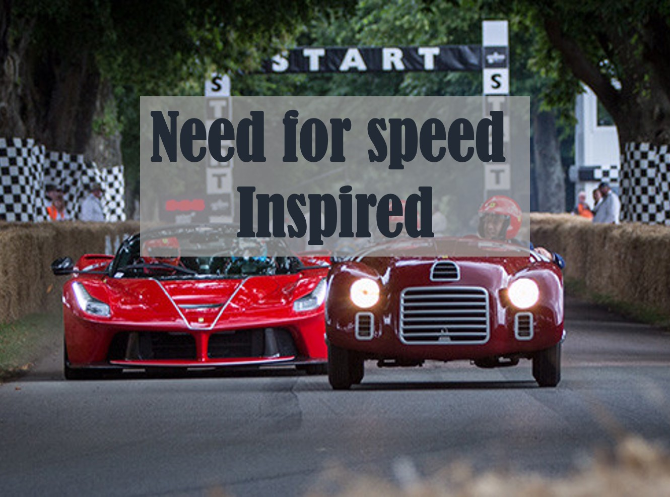 INSPIRED BY THE ESTATE OF GOODWOOD. WE PROVIDE 'NEED FOR SPEED' THINKING. AGAIN THIS IS A LUXURY OFF SITE IGNITION WORKSHOP PROGRAM, TAILORED TO YOUR NEEDS AND BUDGET.