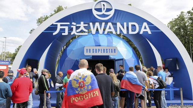 Chinese companies like Wanda, Hisense, Vivo, Mengniu, Yadea, Diking, and Luci in total spent US$835 million on advertising and promoting their brands during this year's FIFA World Cup, accounting for 35 percent of total sponsorship