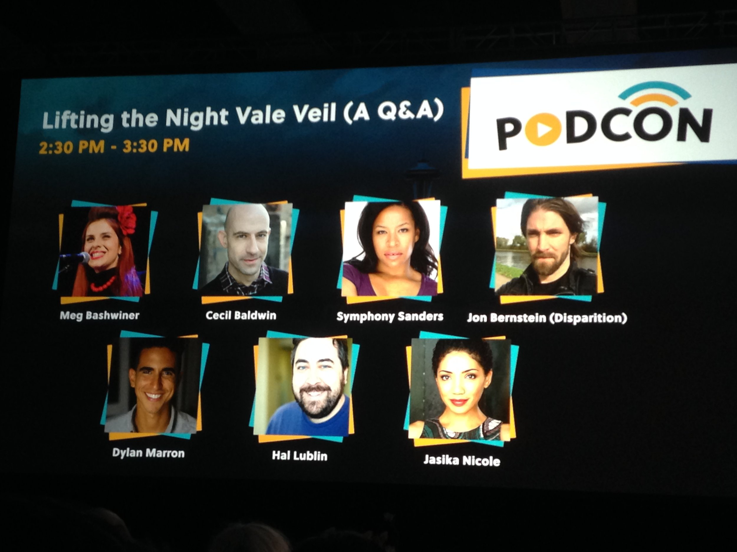 The amazing cast of Night Vale!