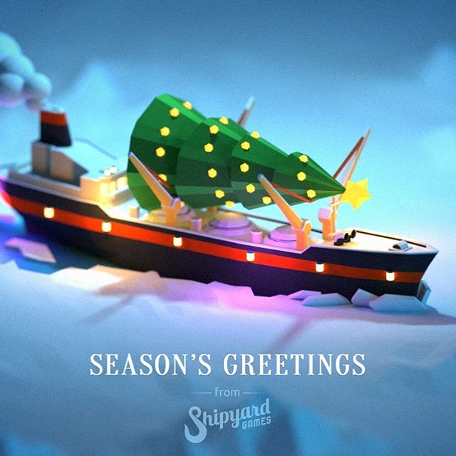 Season's greetings from Shipyard Games! We're looking forward to next year's adventures 🤩 #happyholidays #🎄