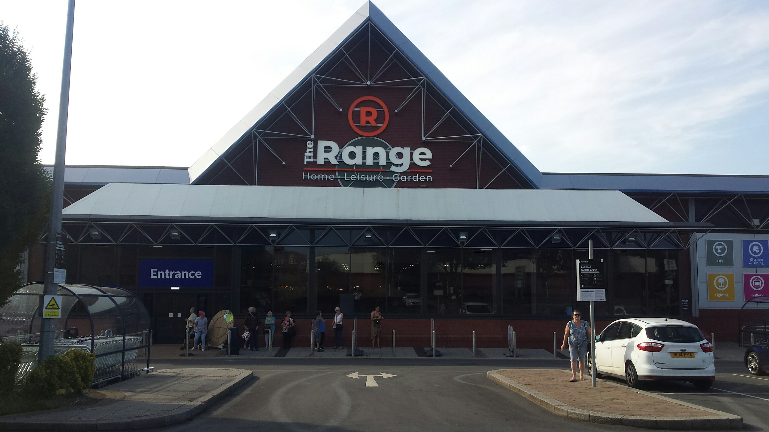 The Range at Stockport Retail Park opened this morning, Friday 26th July 2019