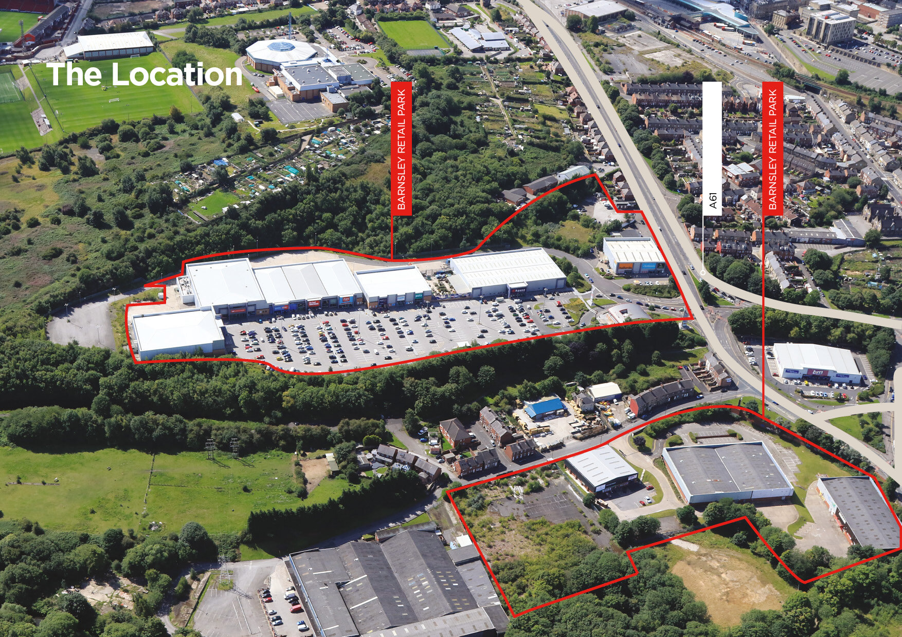 Barnsley Peel Retail Parks