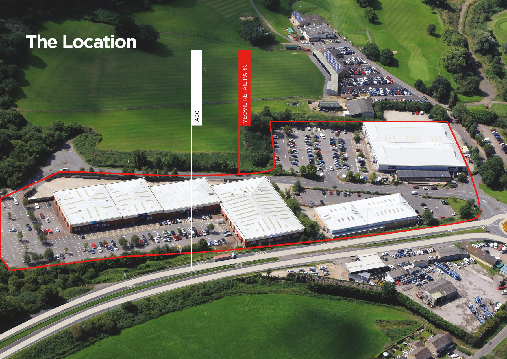 Retail Parks New Aerial Map Yeovil.jpg