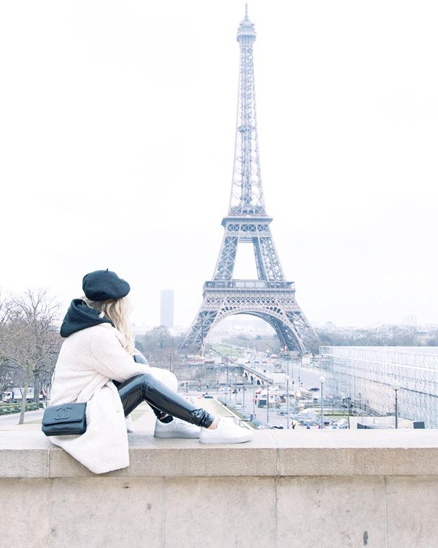 Dreaming of my trip to Paris back in February photographing @kinakobun ✨