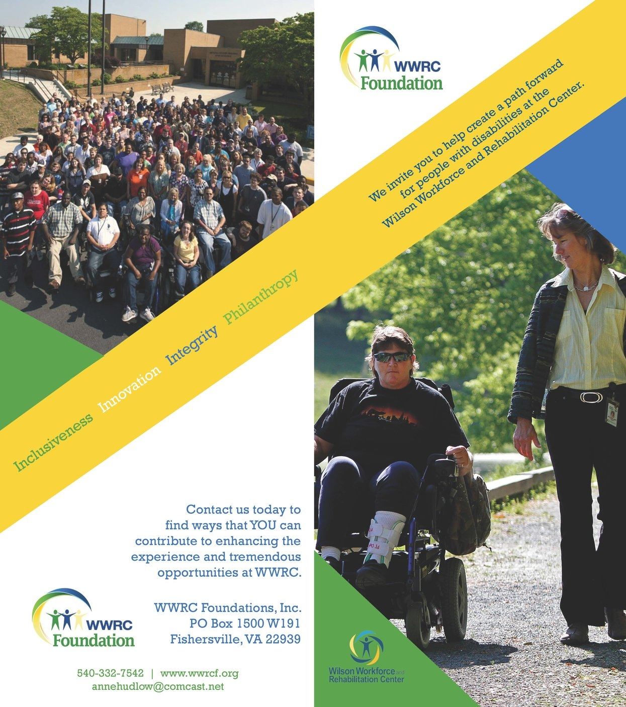 WWRCF Brochure - Read more about the Foundation's work with WWRC.
