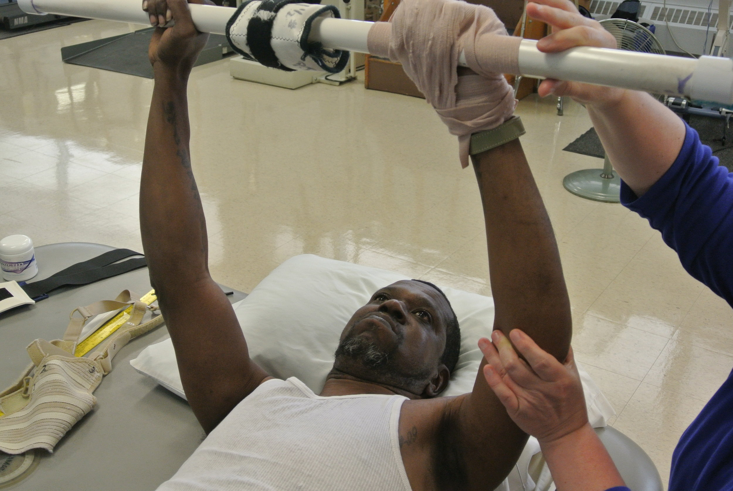 Patient Lifting Weights.JPG