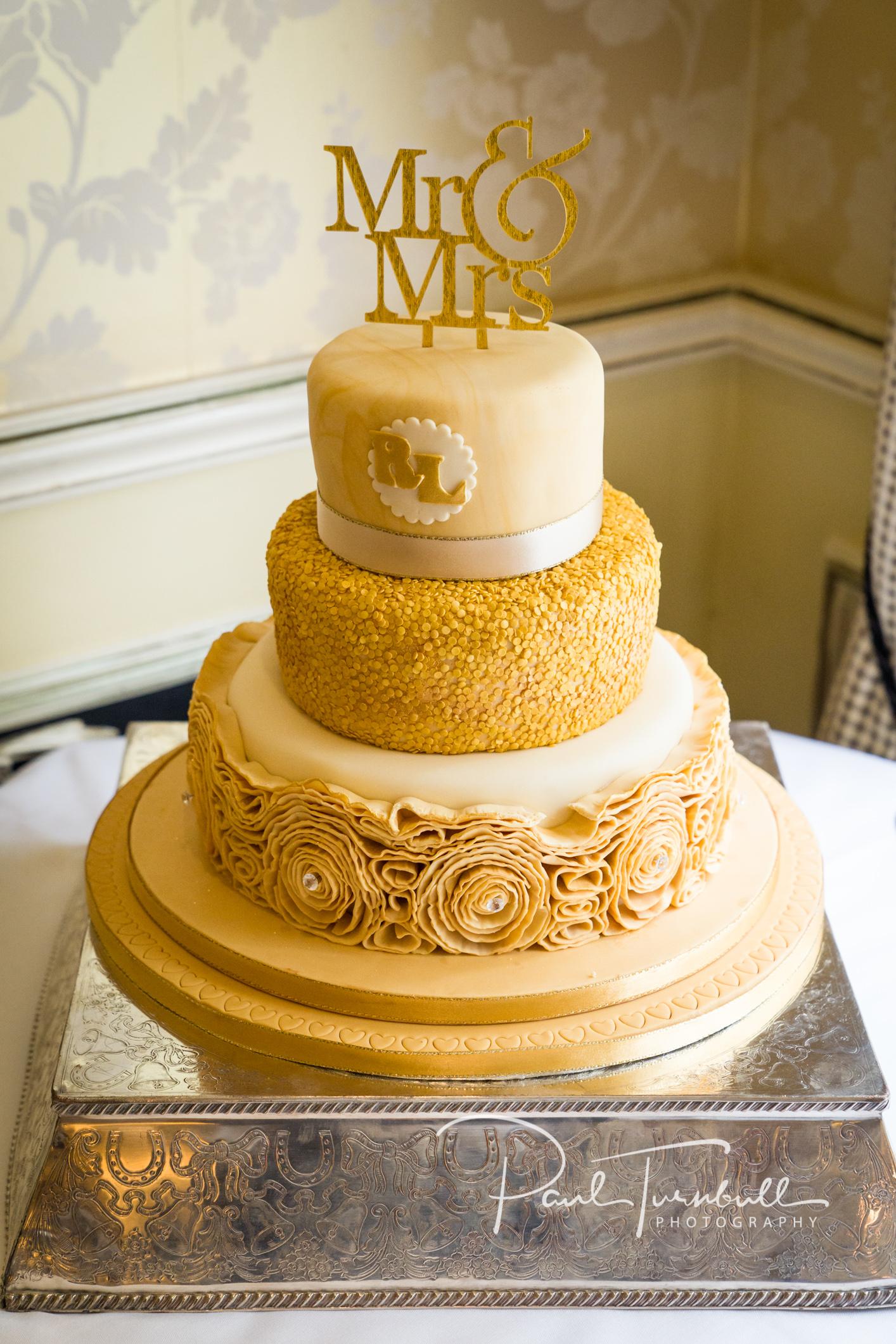 Wedding Cake at Raven Hall, Ravenscar