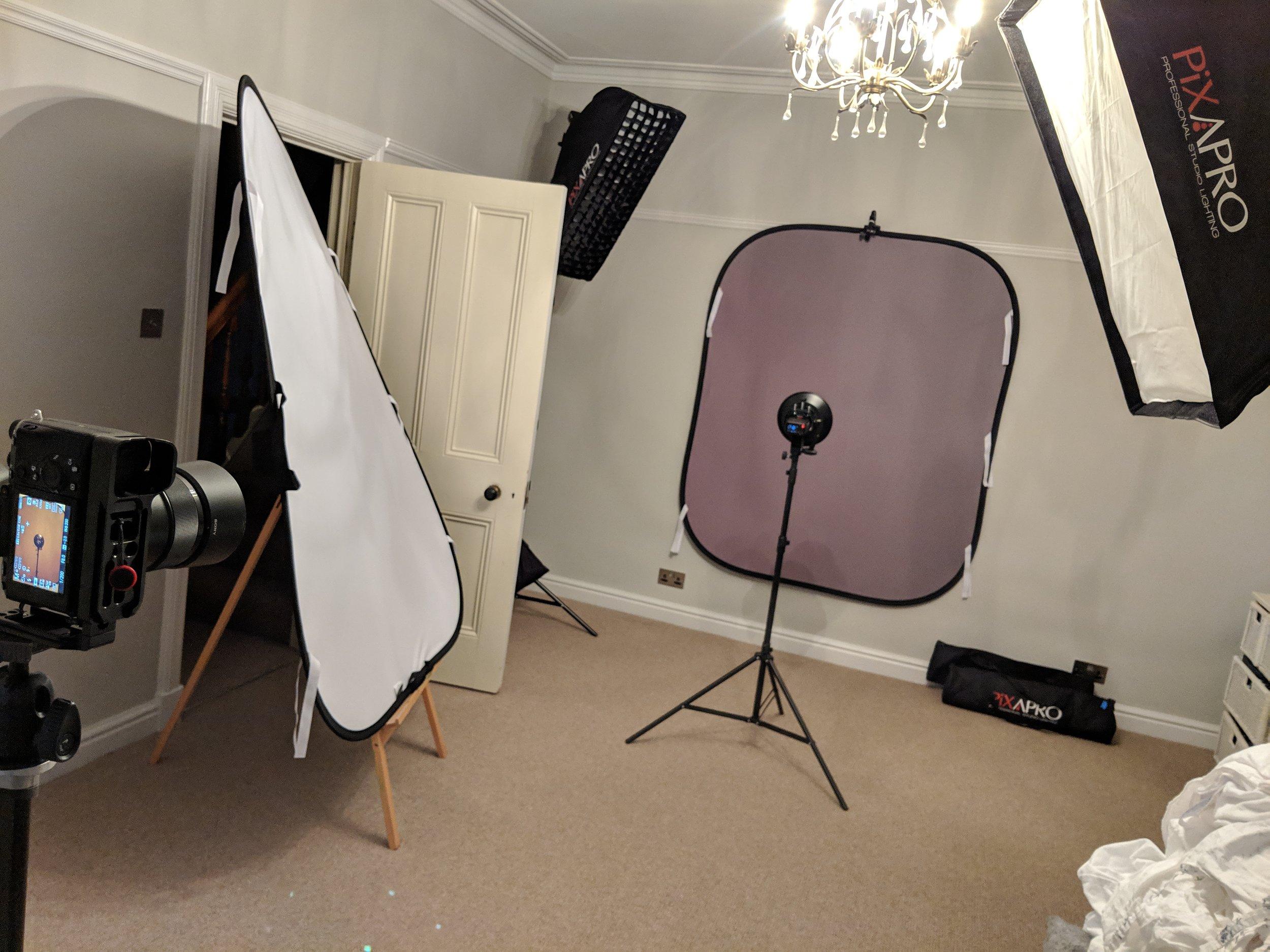 Headshot and Portrait Photography Lighting Setup