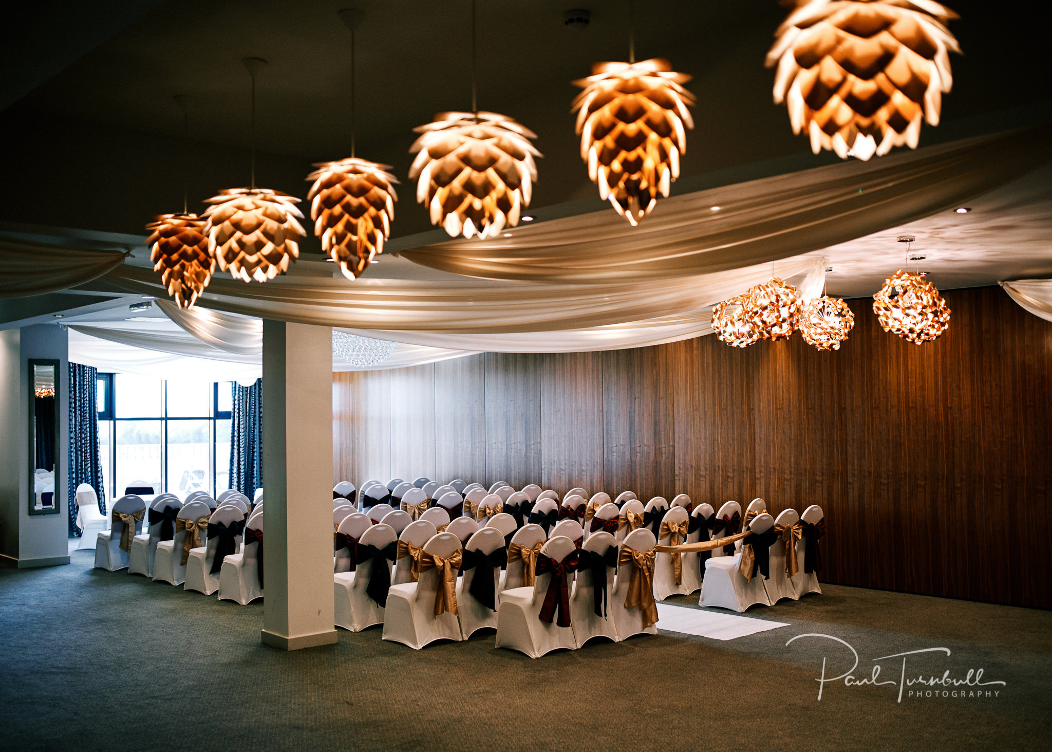Pavilion Suite Ceremony room at Lazaat Hotel. Wedding photographer Hull