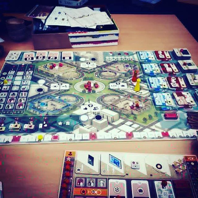 The gallerist is a beautiful game  #brnau #bgg #boardgame #geek #Geekmedia