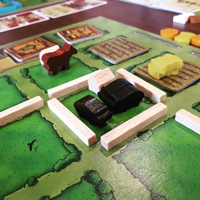 This is my pig farm, there are many like it but your one of mine.  #brnau #bgg #boardgame #geek #Geekmedia
