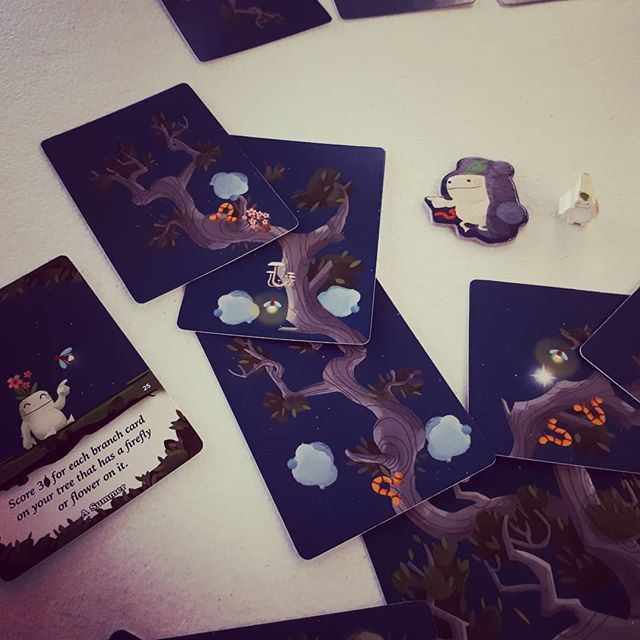 #Kodama is a pretty game worth nice strategy.  #brnau #bgg #boardgame #geek #Geekmedia