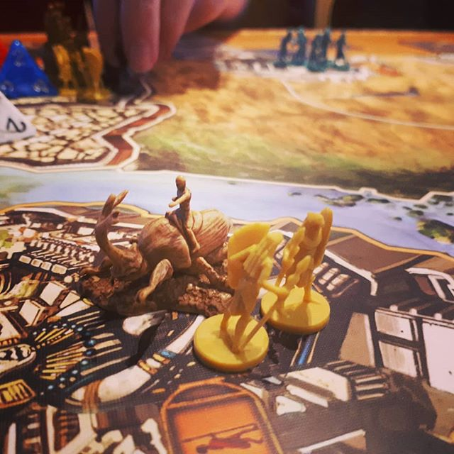 Game 4 at #shepparcon #kemet  #boardgame #games #bgg #brn #fun #anubis #aggrowins