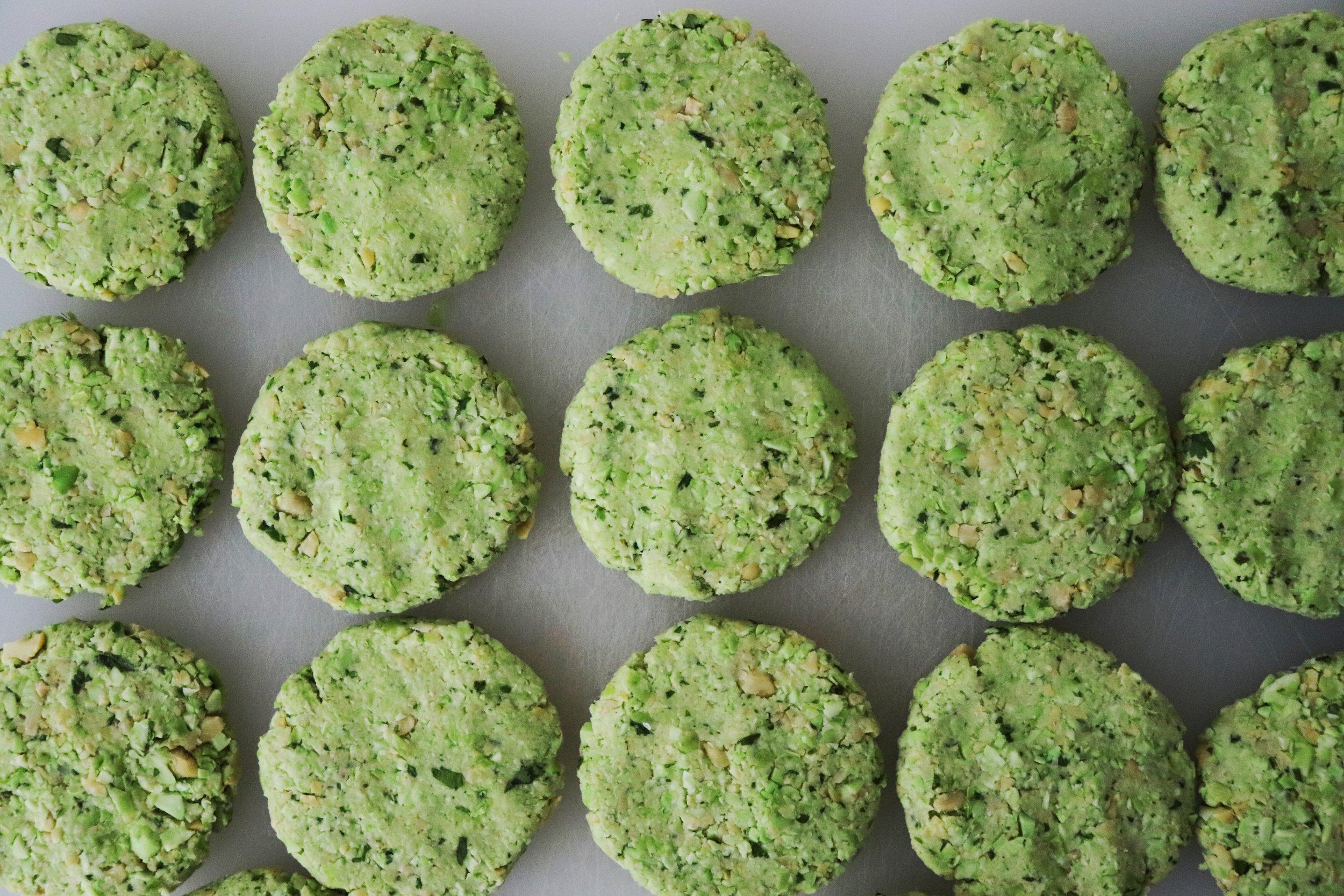 edamame falafel from Jessica Ivey