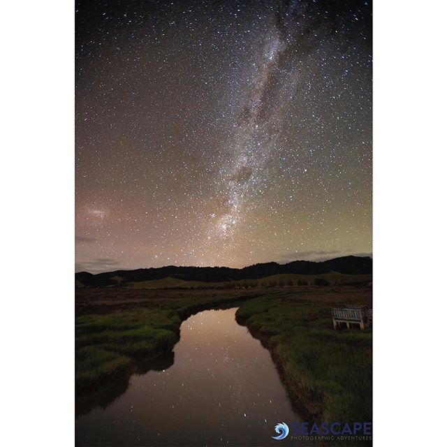 First post for a while - it's been a busy year for exhibitions and workshops.  I've been on the star trail again, this one is from the Otama wetlands.  The river was completely still and a short break in the clouds gave me the chance for this shot. - - #newzealand @newnew.zealand #newzealandguide #new_zealand_imagery #newzealandphotography #nzgeo @tourism_NZ #northisland #coromandelpeninsula #coromandel #thecoromandel #goodforyoursoul #canonphotography #canonphotos #nzimagery #ig_newzealand #canon5dmarkiv @mercurybayartescape #mercurybayartescape @new.new.zealand  @tourism_NrZ #milkywaychasers  #milkyway  #otama  #nightsky