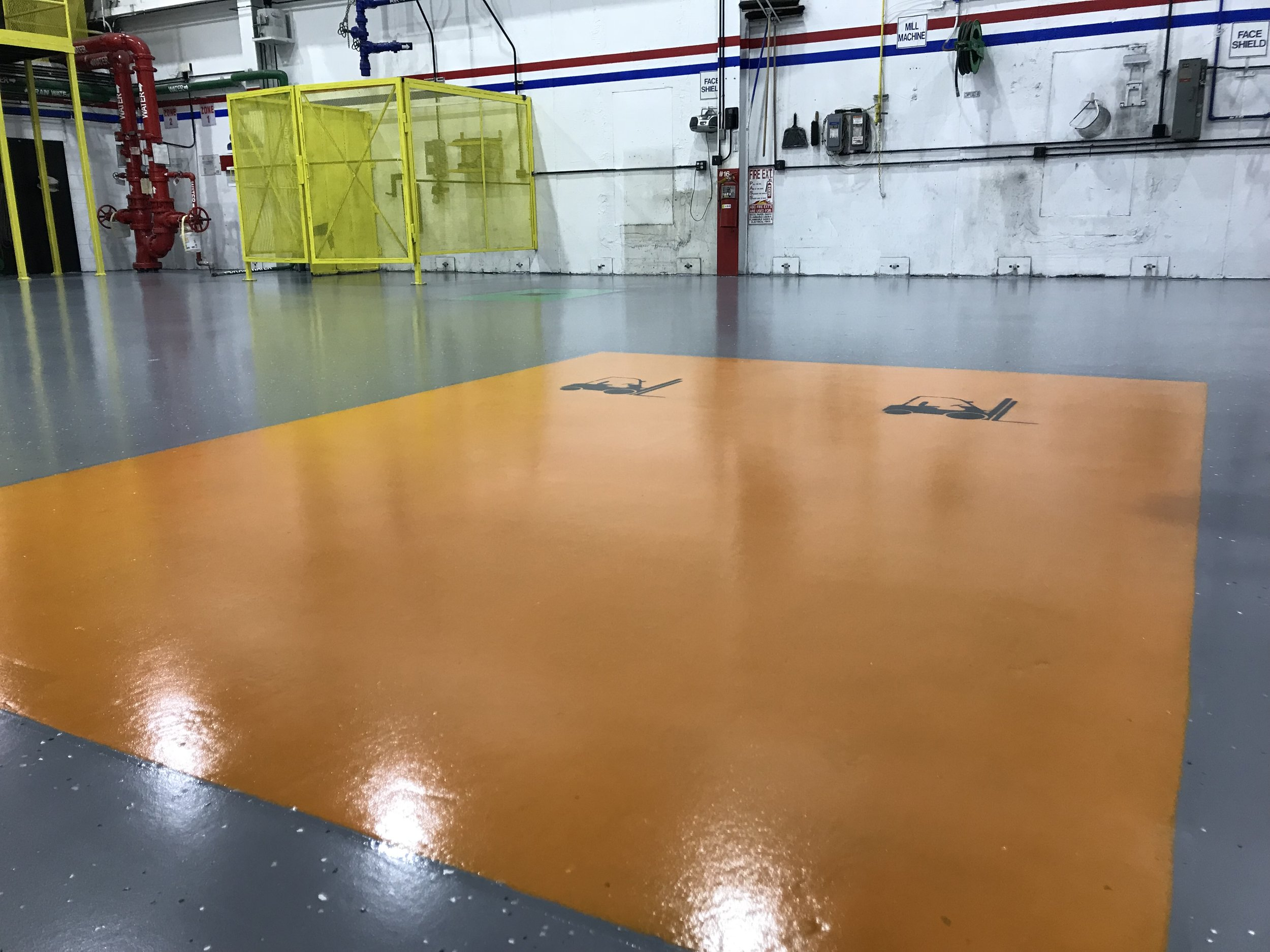 COMMERCIAL EPOXY COATINGS
