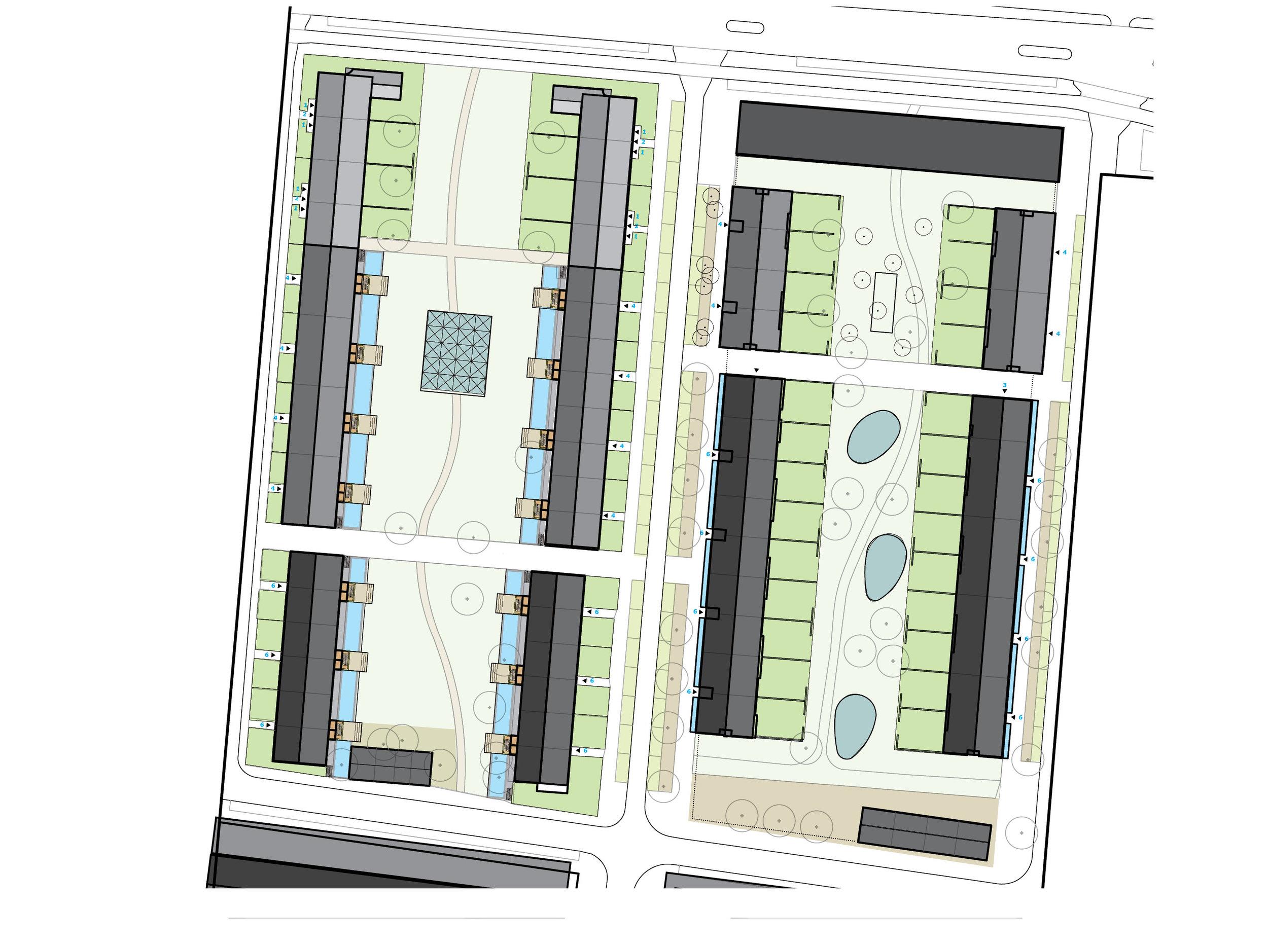 plan for Rubroek