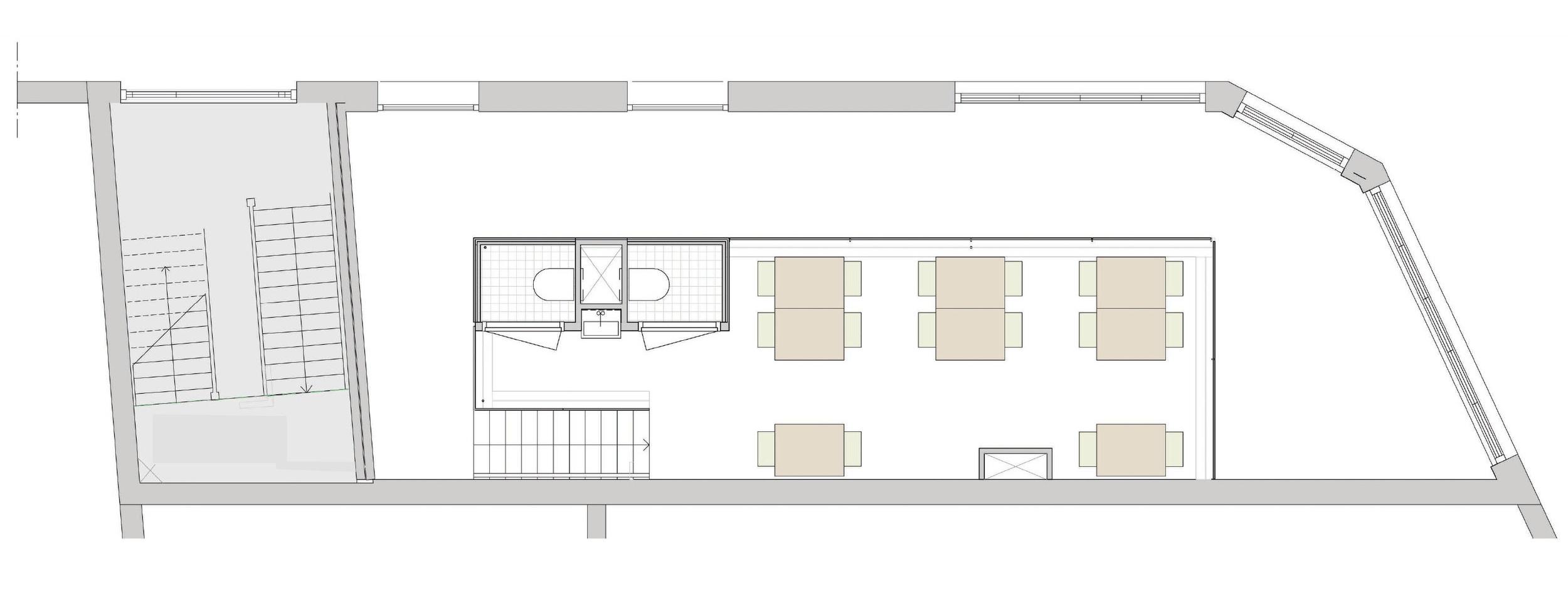 plan of the mezzanine
