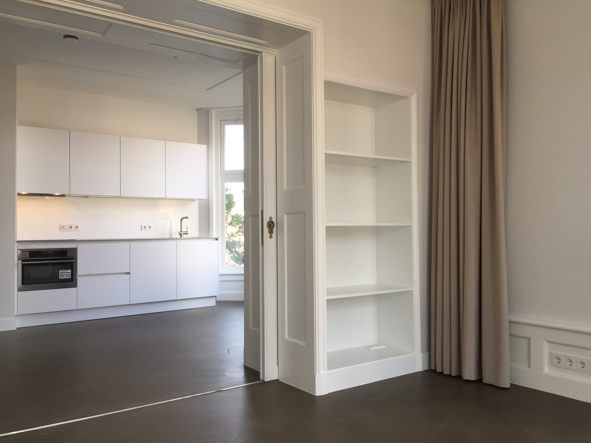 the classical ensuite separation was restored, allowing the apartments to maintain their classical feel