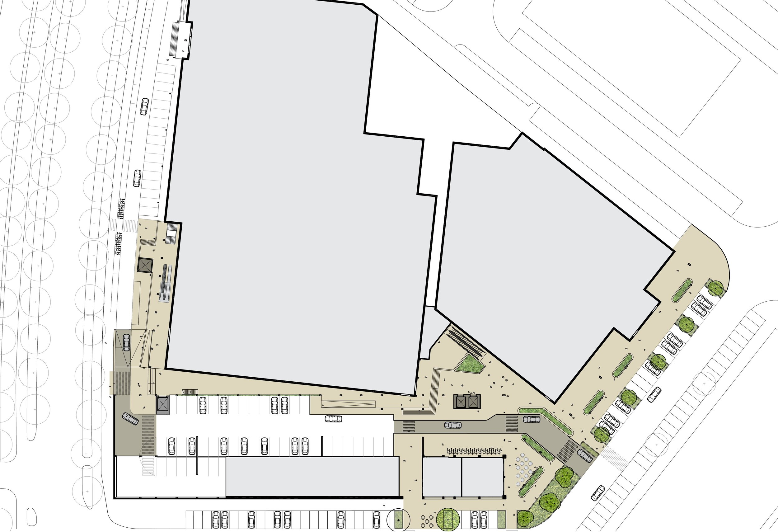 plan for the upgrading of Akerpoort
