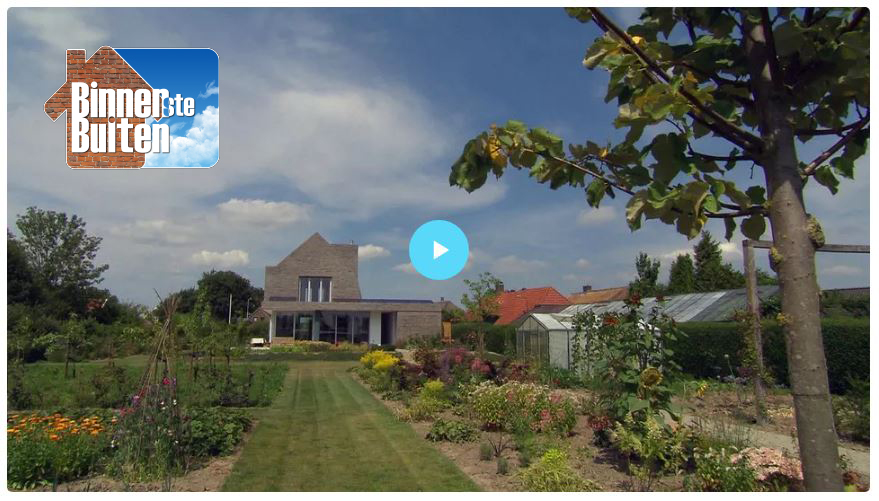 Dutch television program 'Binnenstebuiten' visited the project; watch the fragment of the episode here!