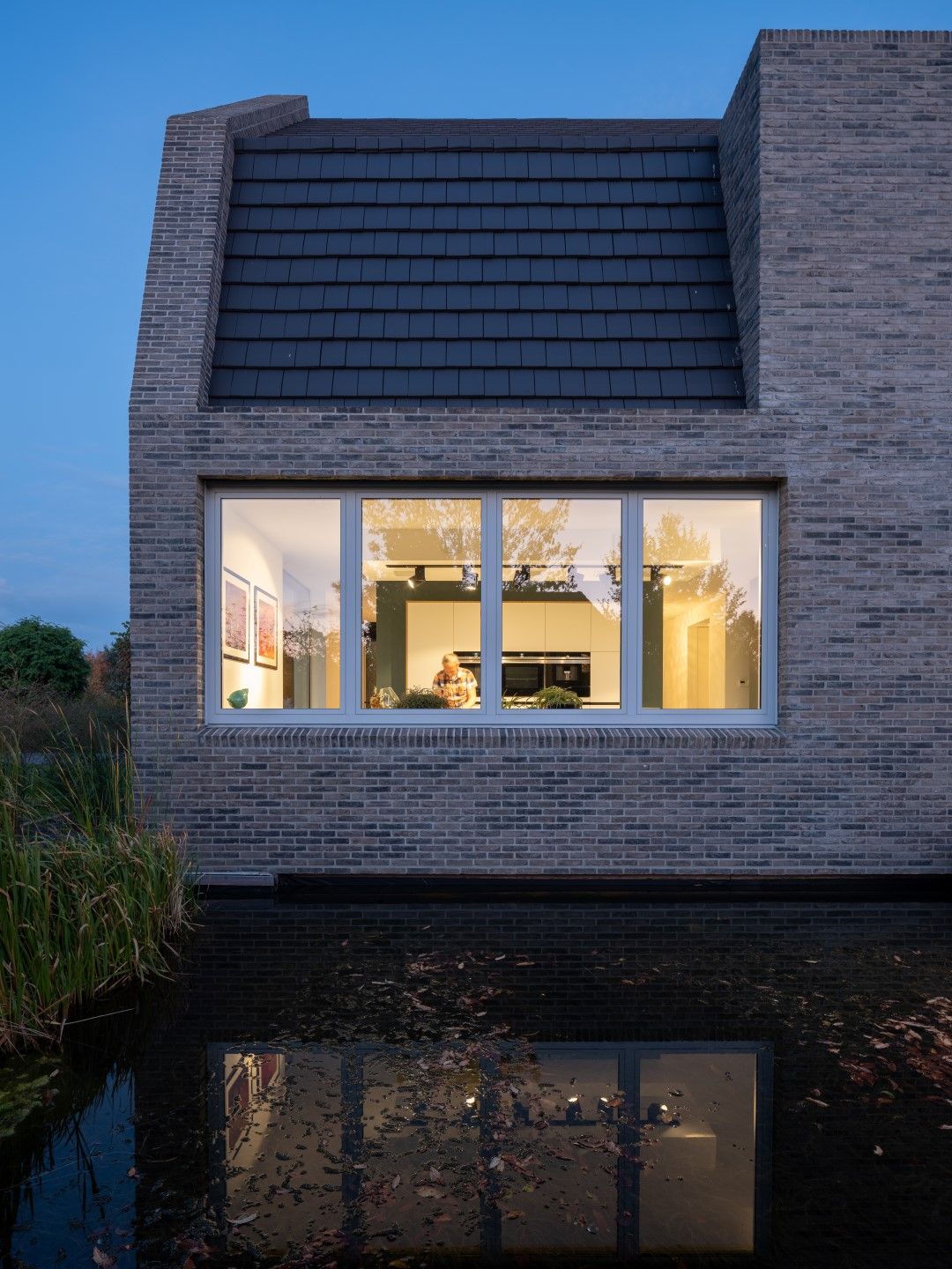 an ode to brick   a contemporary translation of the traditional Dutch farm house