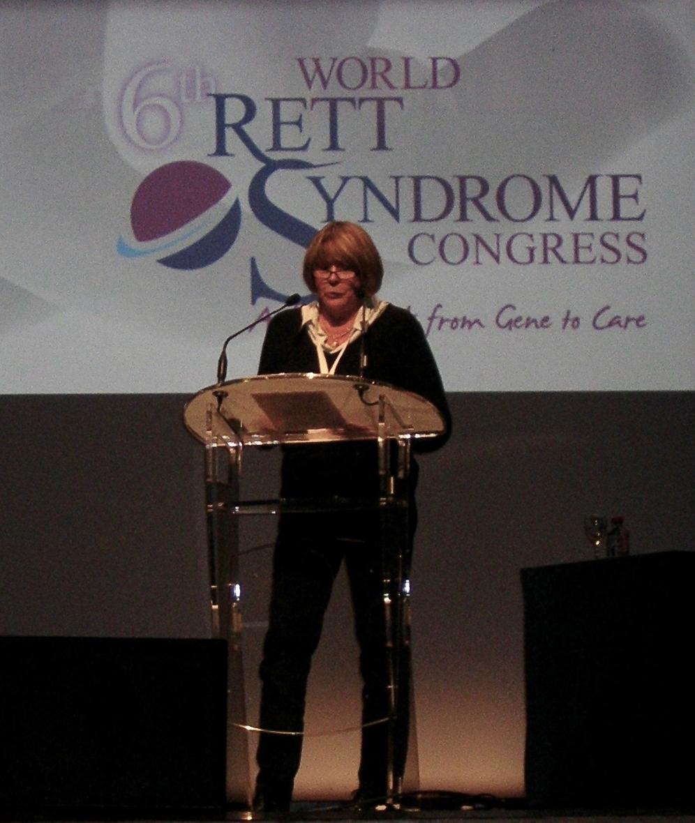 Catherine SENEZ au 6e Congrès International du Syndrome de Rett