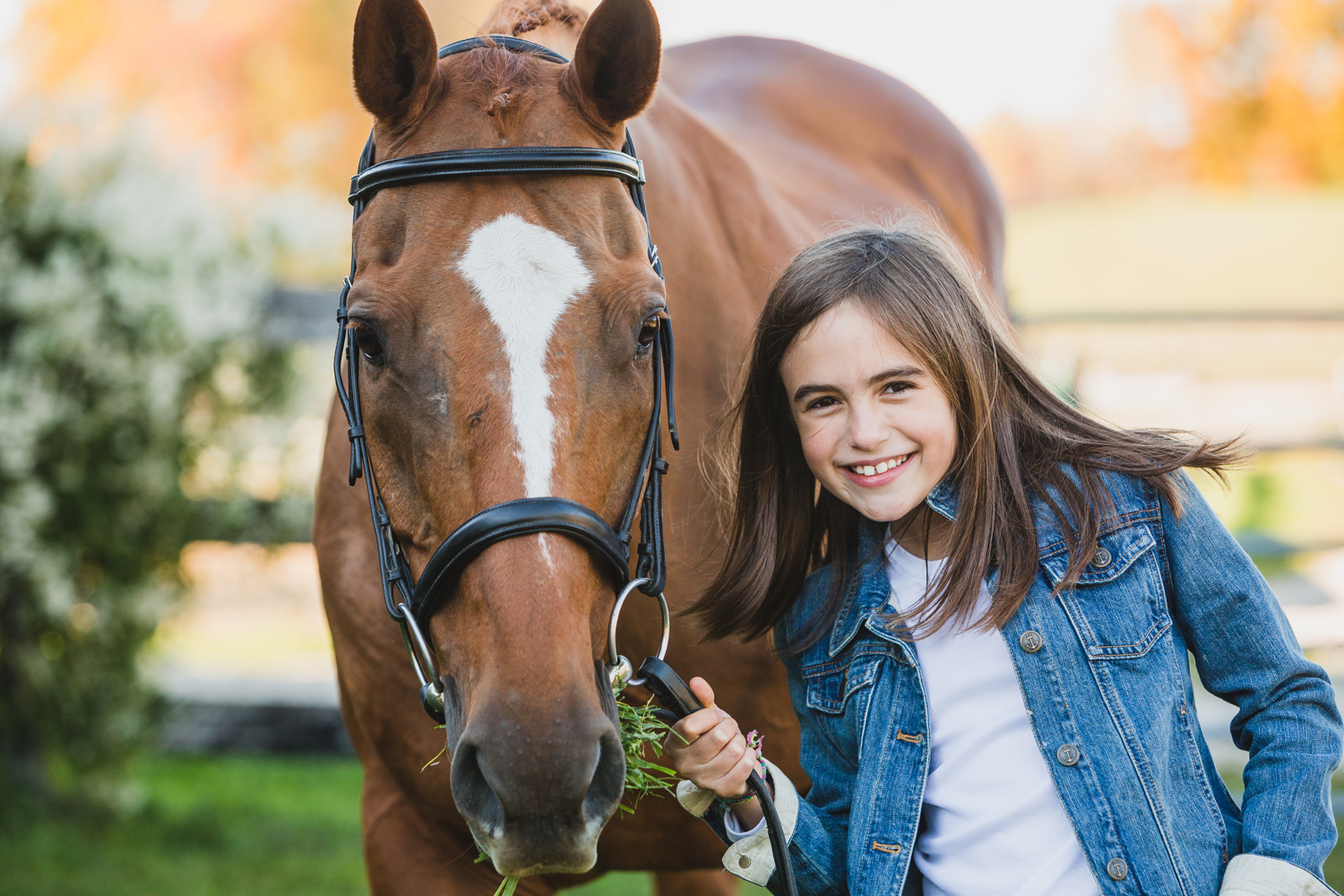 girl with horse midwest
