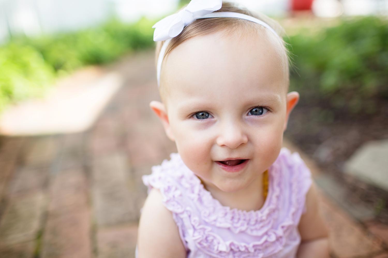 baby portrait outdoor