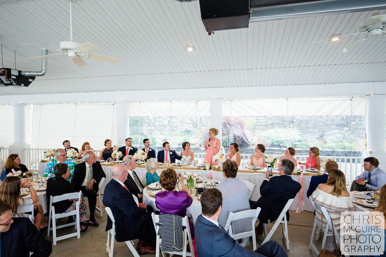 maid of honor toast at reception peoria