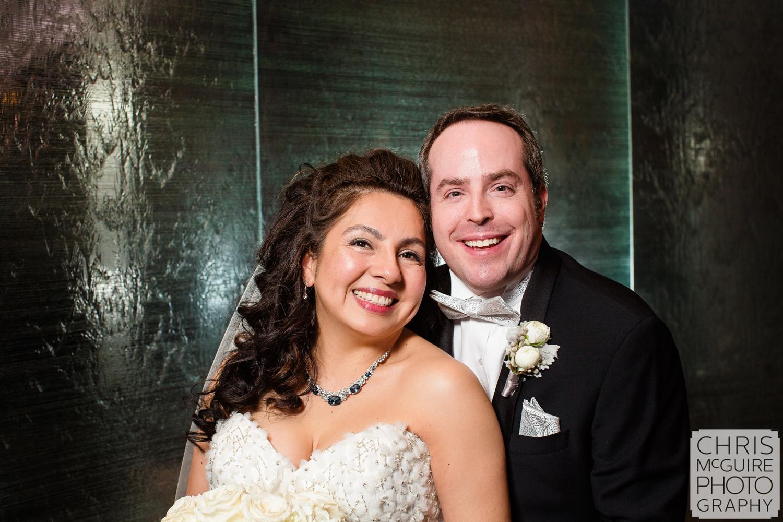 bride groom candid portrait