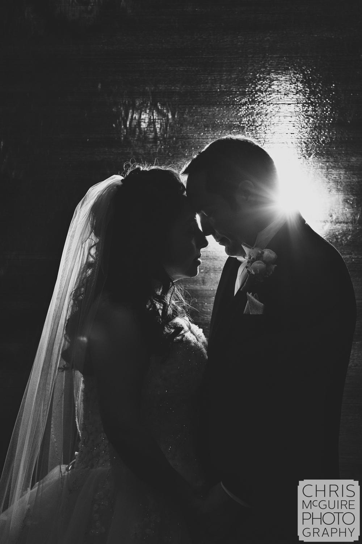 bride groom artistic wedding portrait